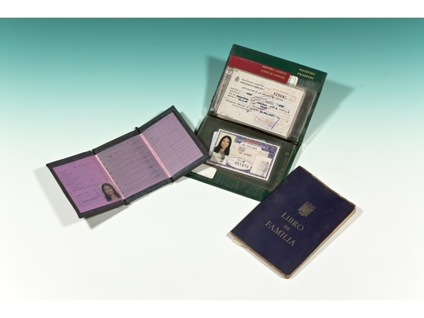 Sanmao's identity cards and certificates