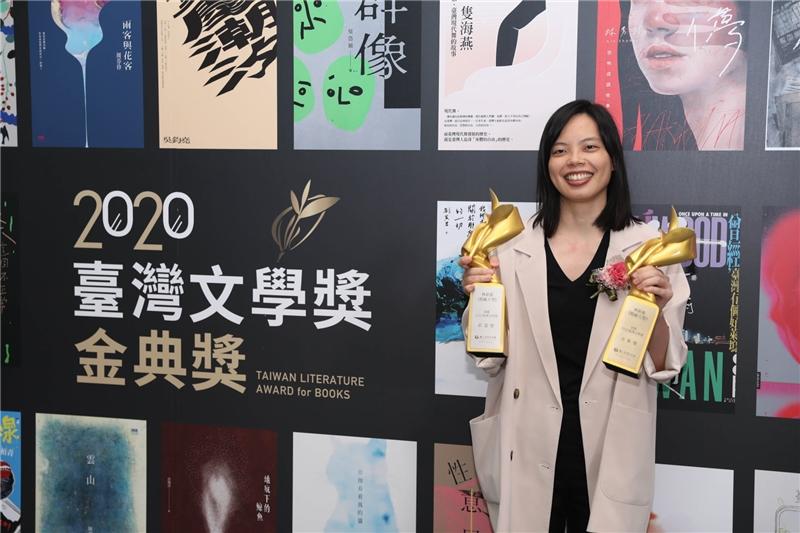 蓓蕾獎與金典獎雙料得者林新惠