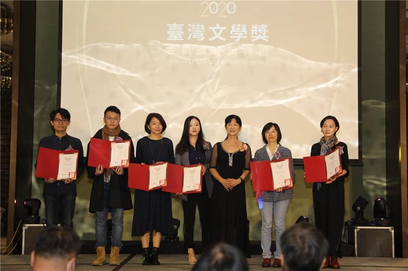 入圍出版社代表領獎