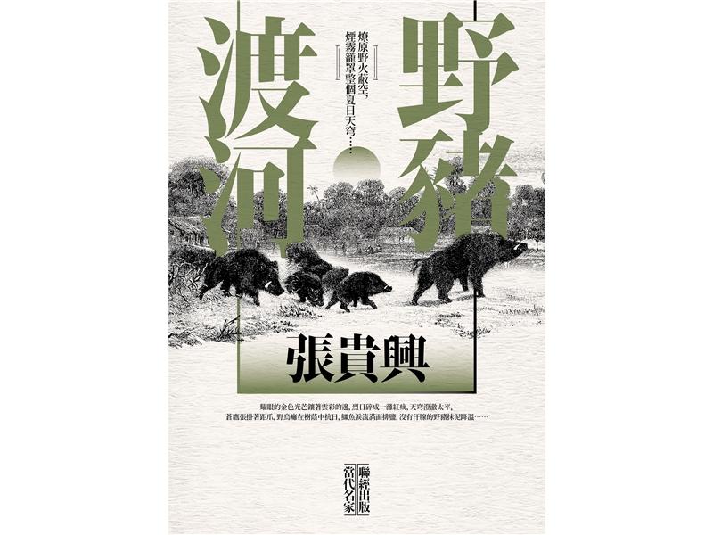 【圖書類〡金典年度大獎】張貴興《野豬渡河》
