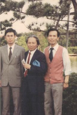 1981,日本筑波大學與張良澤。