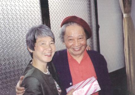 1992,與鄭蘭芳。