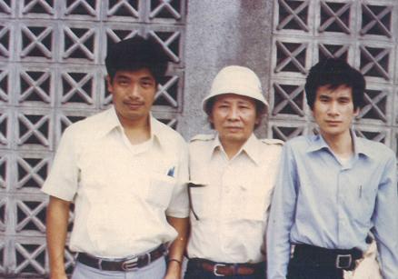 1982,耕莘文教院與文世勛與利錦祥。