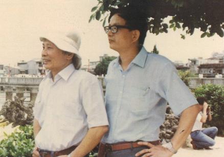 1985,龍潭,與莊永明。