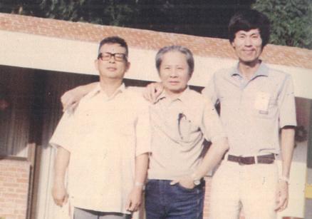 1982,曾文水庫與葉石濤以及林雙不。