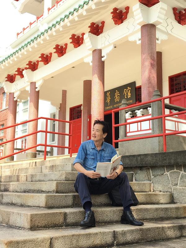 WRITER-IN-RESIDENCE AT NANYANG TECHNOLOGICAL UNIVERSITY, SINGAPORE