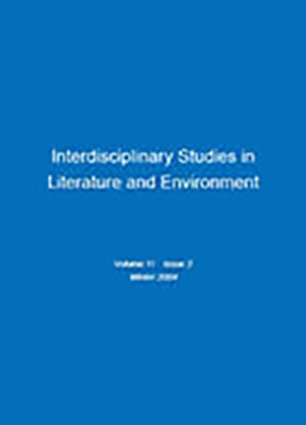 <i>Interdisciplinary Studies in Literature and Environment</i>, Vol.11, Issue2