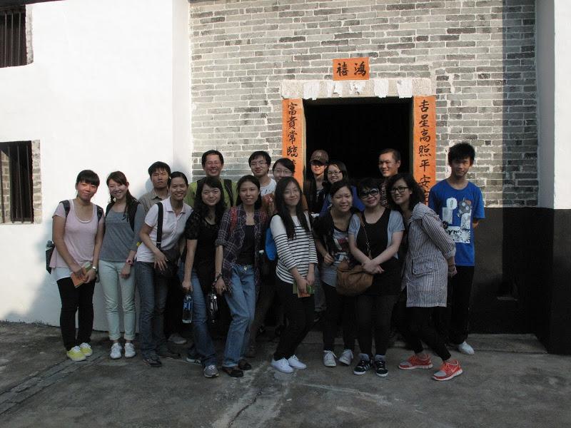 受邀為香港城市大學訪問作家