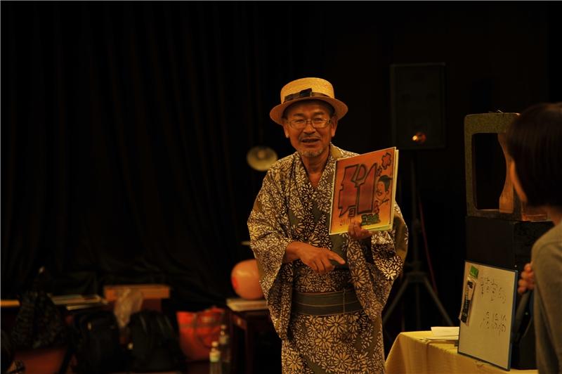 2017.08.12-鈴木爺爺的紙芝居劇場(演出者:鈴木常勝、山口文子)
