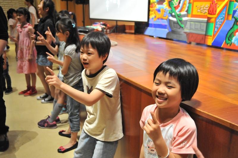 4/4 《親子奇幻劇場「西遊記之大鬧水晶宮」》。演出:臺北木偶劇團。